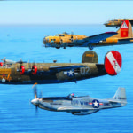 The Wings of Freedom Tour b-17, B-24, B-25, P-51