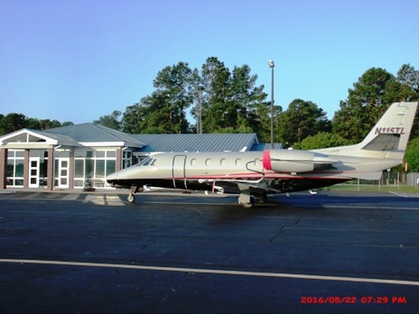 Aircraft on Ramp at Statesboro Bulloch County Airport