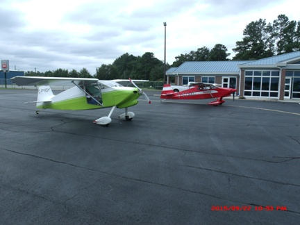 What a fun flight from Canada to the Statesboro Bulloch County Airport!