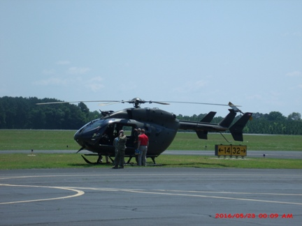 Helicopter at KTBR