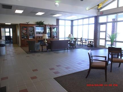 Statesboro Bulloch County Airport Lobby