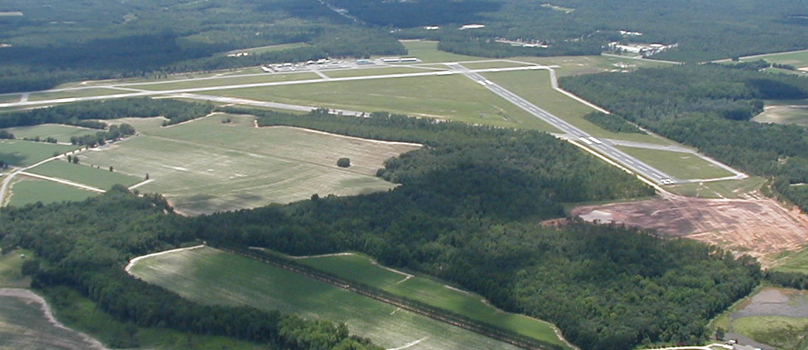 Statesboro Bulloch County Airport Aerial view