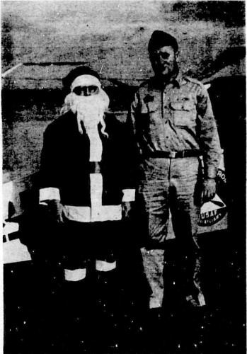 Santa Arrives at the Airport Courtesy of Bulloch Times