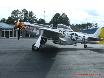 Swamp Fox P-51 Mustang Aircraft