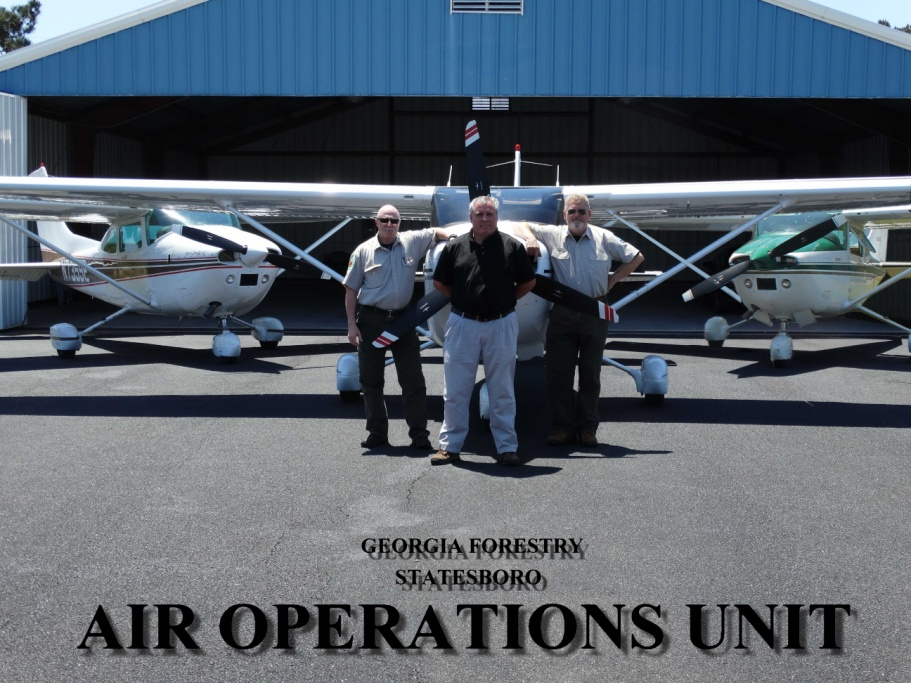 GA Forestry Commission Aviation Division at the Statesboro Bulloch County Airport