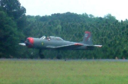An experimental aircraft, the Nan Chung takes flight!