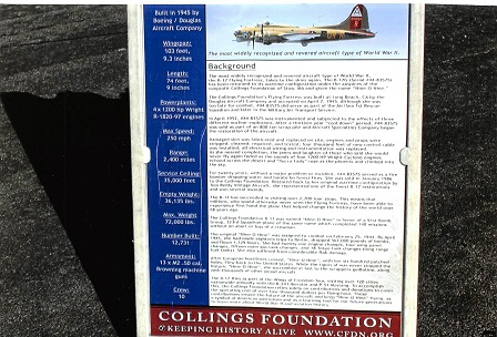 Wings of Freedom Information Poster