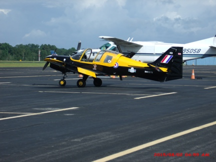 Variety on the Ramp at Statesboro Airport