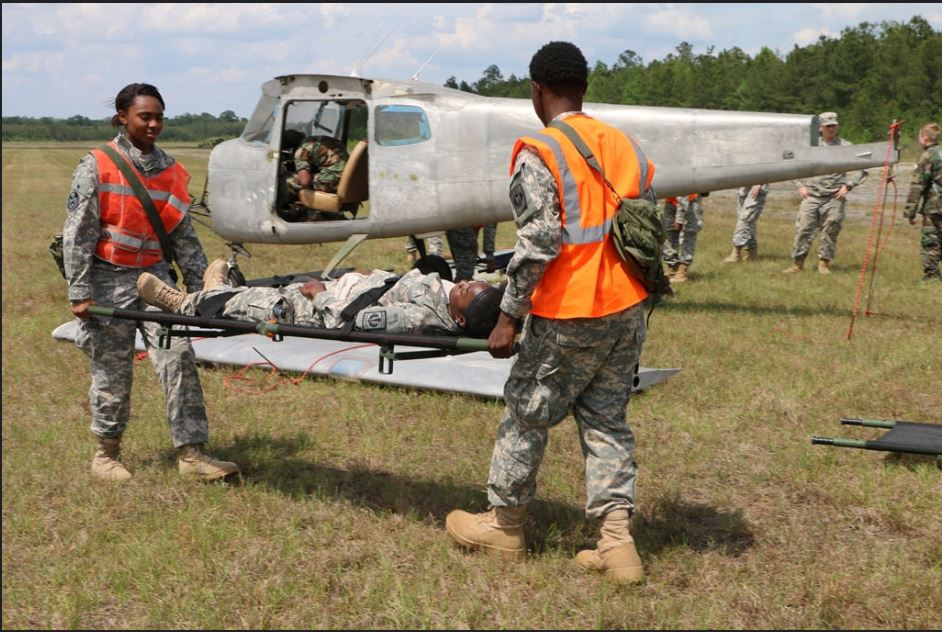 The Statesboro Civil Air Patrol Squadron had a weekend mass casualty exercise.