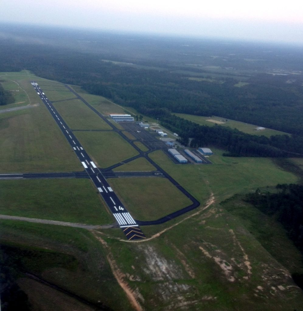 Runway 14, Statesboro-Bulloch County Airport